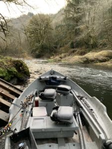 securing a fishing guide in the PNW