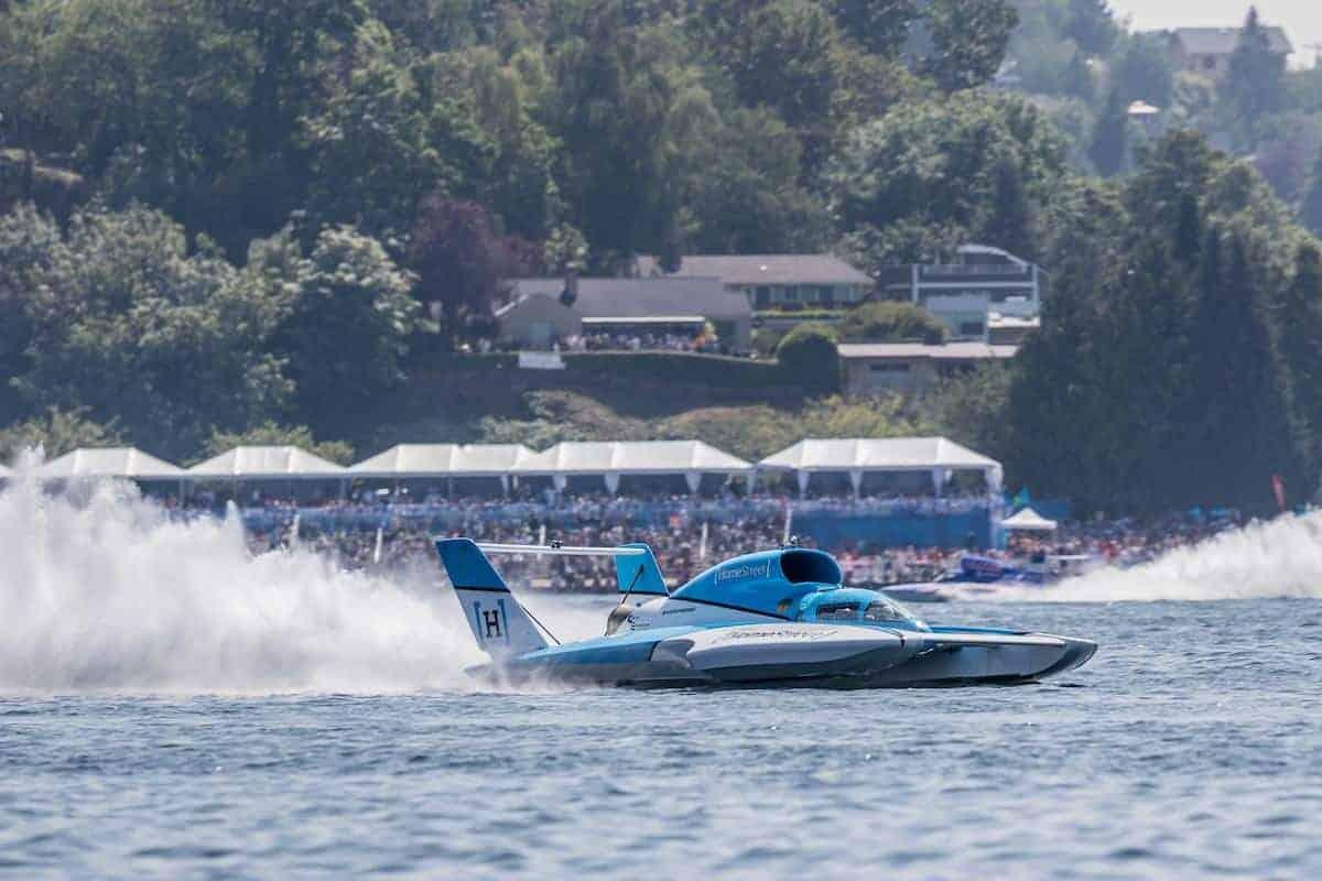Hydroplane Seattle Seafair Weekend Festival