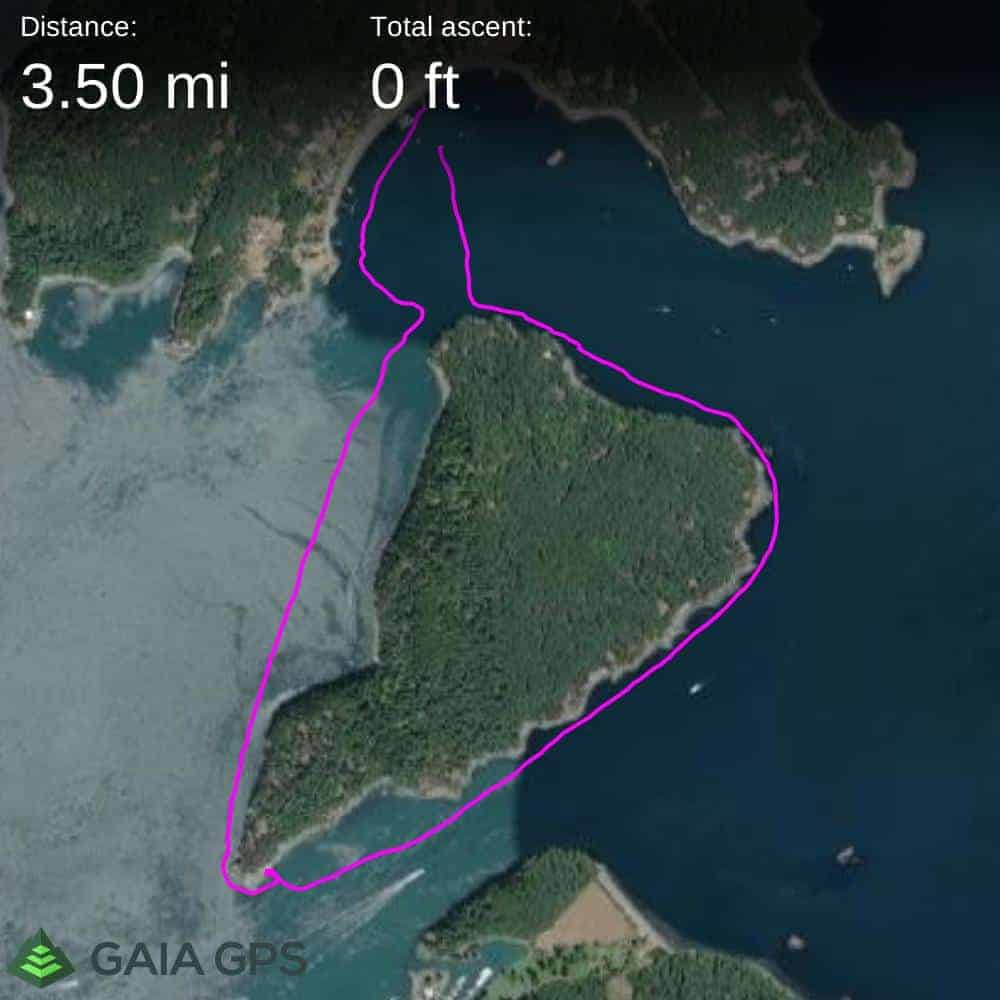 Obstruction Island Circumnavigation Route Facts